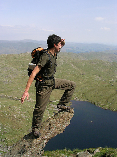 Rock Climbing in Cumbria