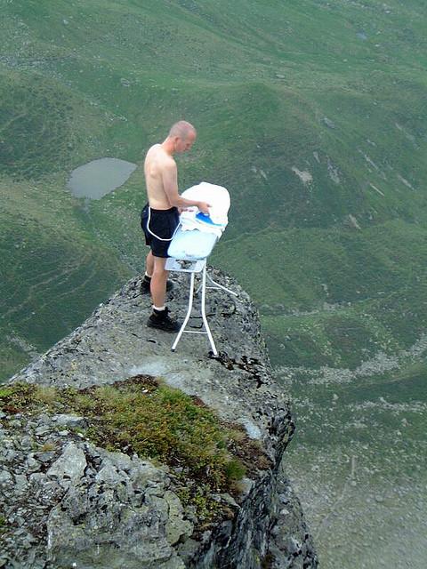 Extreme Sports Ironing