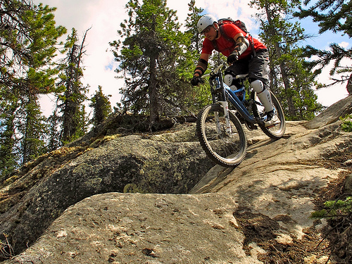 Extreme Sports Mountain Biking
