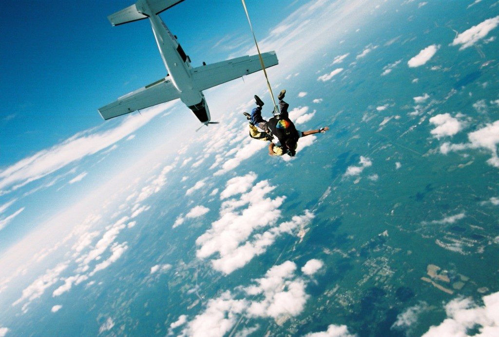 Extreme Sky Diving