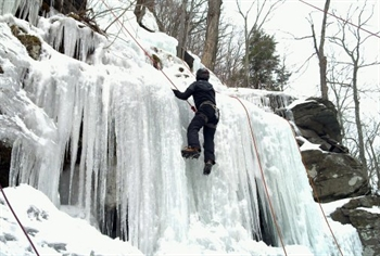 New York Ice Climbing