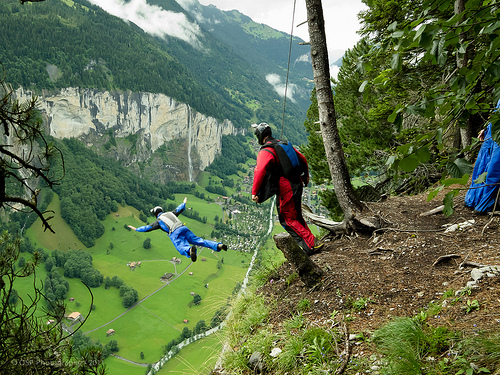 Base Jumping Addiction