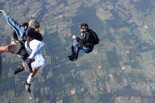 Sky diving Specialties