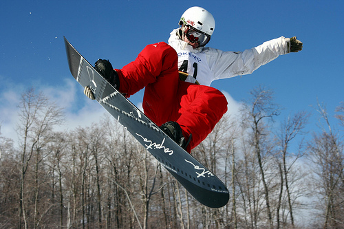 Extreme Sports Snowboarding