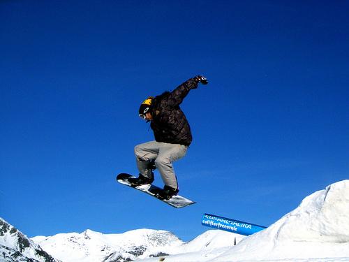 Andorra Snowboarding