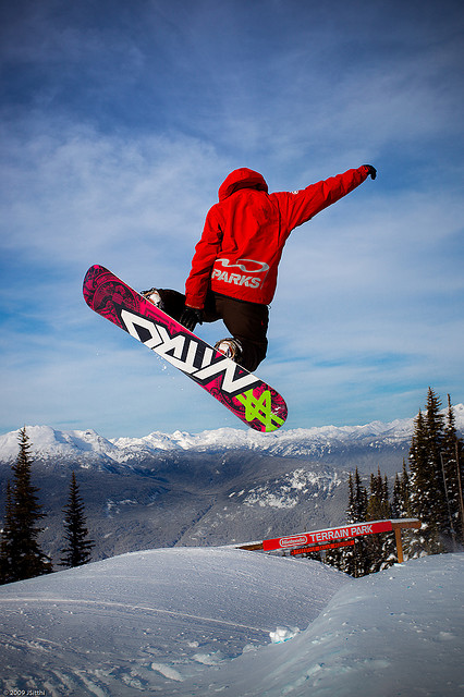 Snowboarding Extreme Sports