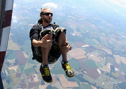 Skydiving in Wisconsin