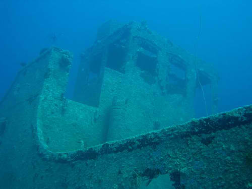 Wreck Diving Coolidge