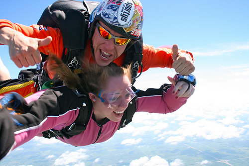 Skydiving safety