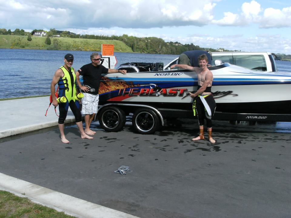 Drag Water Ski Racing
