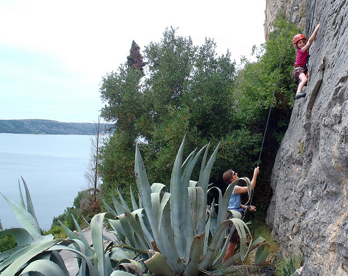 Mountain Climbing in Croatia