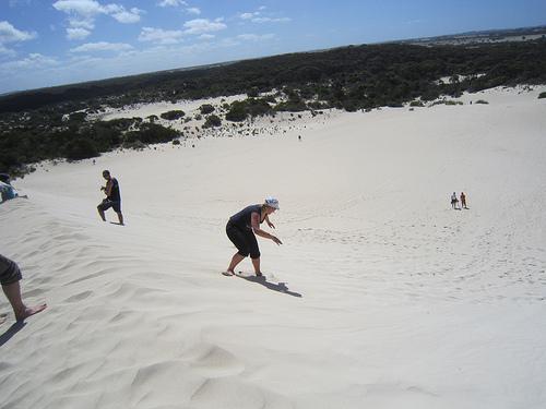 Australia Sand Boarding