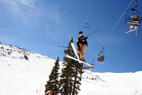 Extreme Ski Jumps