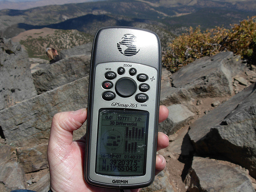GPS Device for Climbers