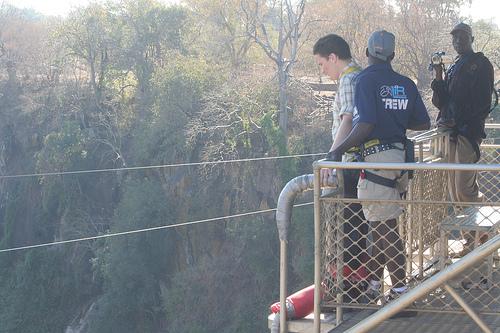 Bungee Jump Victoria Falls