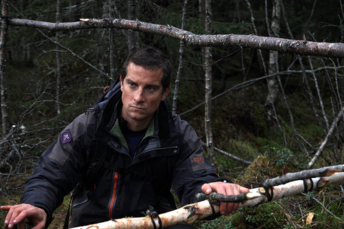 Becoming Bear Grylls