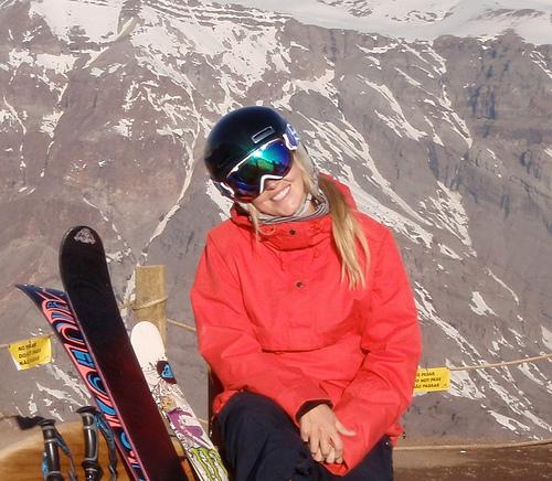 Sarah Burke Skiier