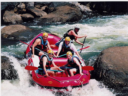 where to go whitewater rafting