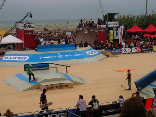Skateboarding in Spain