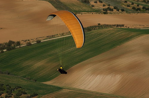 Hang Gliding in Spain