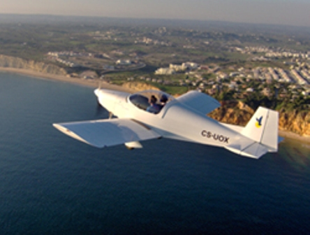 Microlight in the Algarve