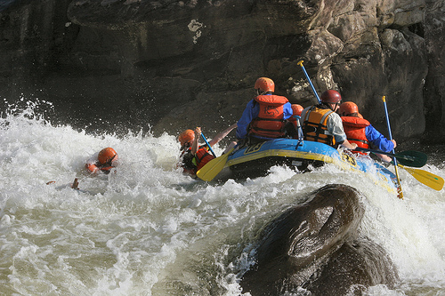 Rapid Classes in White Water Rafting