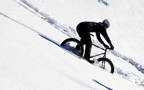 Mountain Biking Down Hills