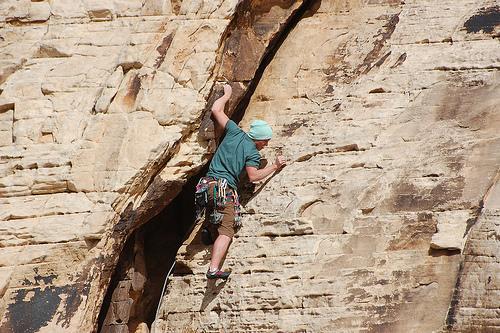Nevada Rock Climbing