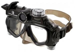 Liquid Image Wide Angle Scuba Series HD Camera Mask 1