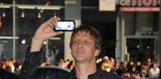 "Tony Hawk at the ""Splice"" Los Angeles Premiere, Chinese Theatre, Hollywood, CA. 06-02-10"