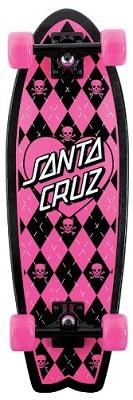 Santa Cruz Skate Argyle Shark Cruzer